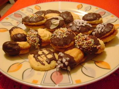 Schokoladige mürbe Kekse Rezept