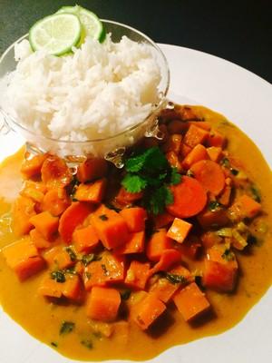 Süßkartoffel Curry Rezept
