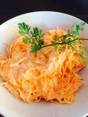Karottensalat mit Wasabi Rezept