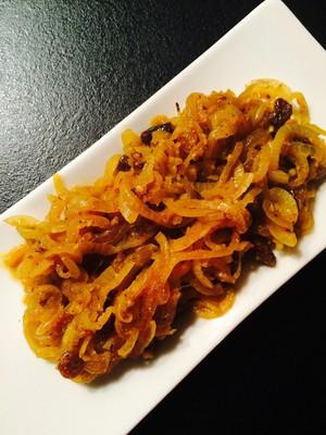 Orientalisches Zwiebelgemüse Rezept