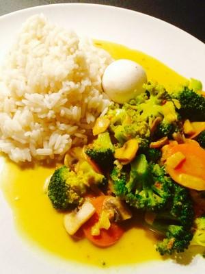 Gemüse-Pilz Pfanne ( vegan) Rezept