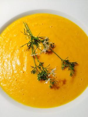 Karamellisierte Karotten-Kokos Suppe  Rezept