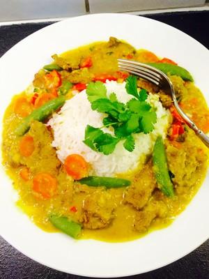 Rindfleisch-Linsen Curry  Rezept