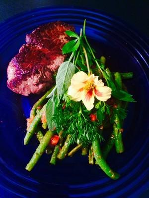 Fisolen-Tomaten Gemüse  Rezept