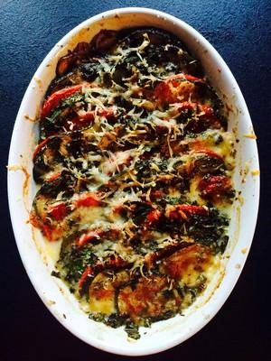 Zucchini Gratin  Rezept