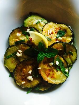 Gebackene Zucchini (Antipasti) Rezept