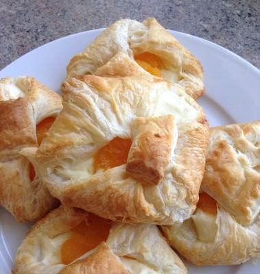 Topfengolatschen mit Mandarinen Rezept