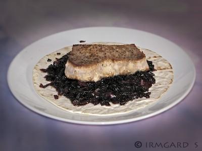 Thunfischsteak mit Zwiebelmarinade Rezept