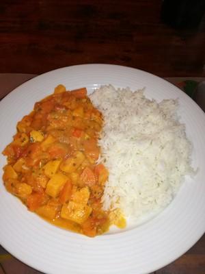 Süßkartoffel - Karotten Curry  Rezept