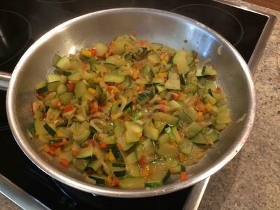 Zucchini-Karotten-Gemüse Rezept