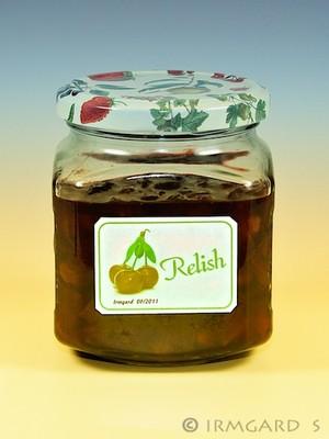 Weichsel-Relish Rezept