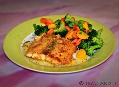 Frischer Lachs mit Gemüse Rezept