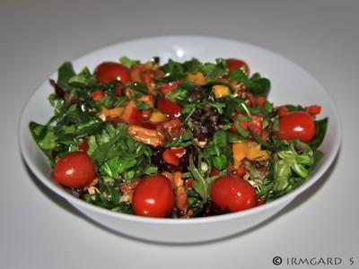 Wildkräutersalat Rezept
