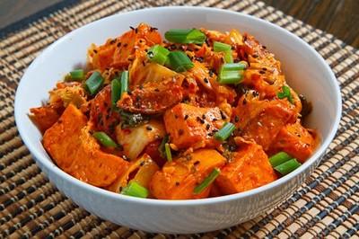 Kimchi Süsskartoffel Salat Rezept Rezepte Auf Kocheckeat