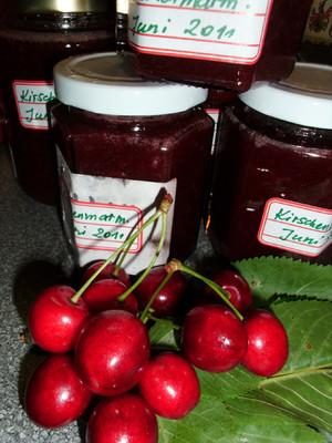 Kirschenmarmelade Rezept