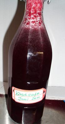 Kirschensaft im Dampfentsafter Rezept