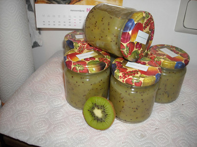kiwi bananen marmelade rezept rezepte auf. Black Bedroom Furniture Sets. Home Design Ideas