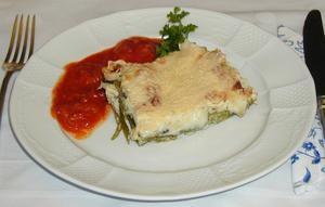 Lasagne mit Huhn und Champignons Rezept