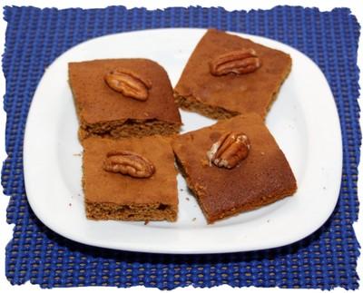 Lebkuchen mit Pecannüssen Rezept