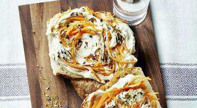 Kürbiskern Karotten Aufstrich Rezept