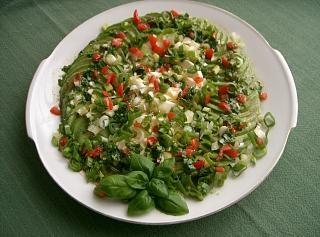 Mozzarellasalat mit Avocado Rezept