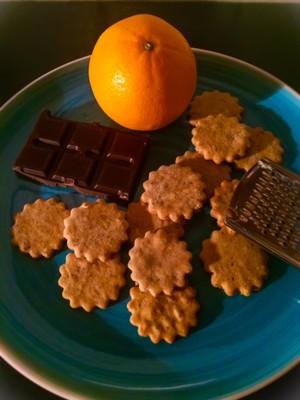 Orangen-Schokoladenkekse Rezept