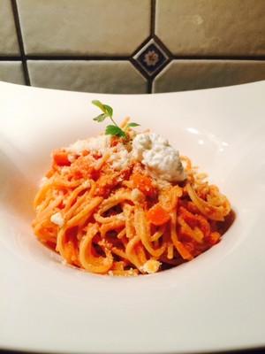Spaghetti mit Gemüse-Käse Sauce Rezept