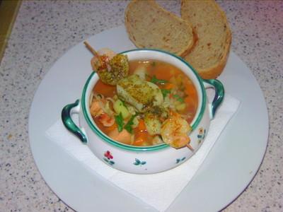 Einfache Fischsuppe  Rezept