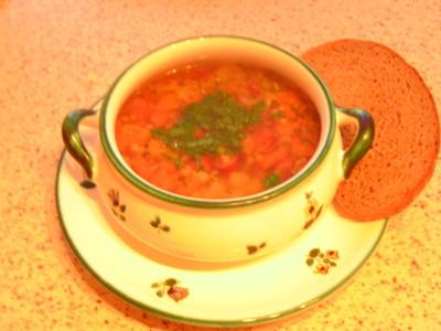 Knoblauchsuppe nach bömischer Art Rezept