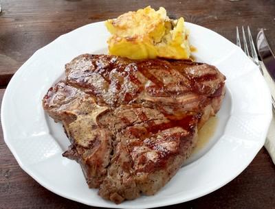 Gegrilltes Porterhouse Steak  Rezept