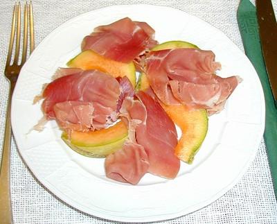 Prosciutto mit Melone Rezept