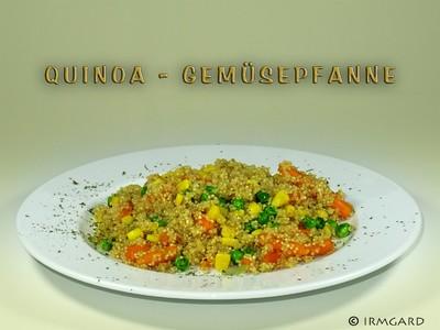 Quinoa - Gemüsepfanne Rezept