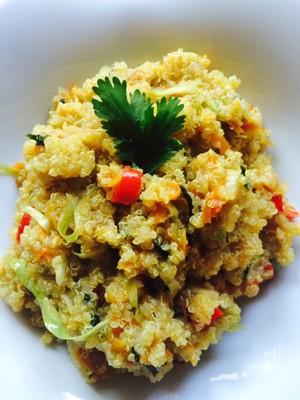 Gemüse-Quinoa mit RAS EL HANOUT Rezept