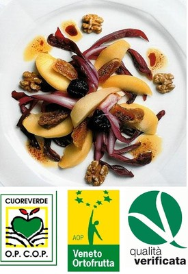 Radicchio – Birnen – Apfel – Salat Rezept