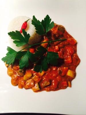 """""""Restl"""" - Gemüsecurry mit selbst hergestellter MASALA-Gewürzmischung Rezept"""
