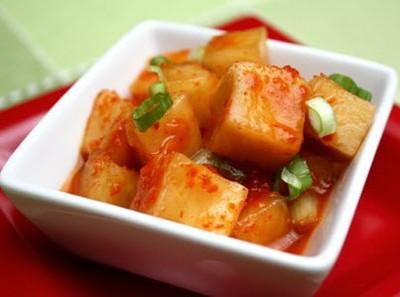 Rettich Kimchi Rezept