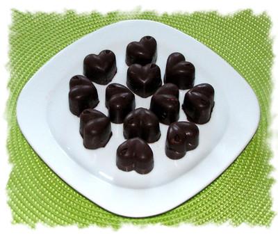 Schokoladeherzen Rezept