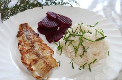 Seelachs-Filet mit Reis Rezept