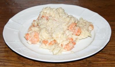 Shrimprisotto Rezept