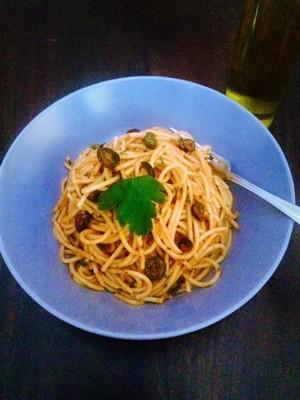 Sizilianische Spaghetti Rezept