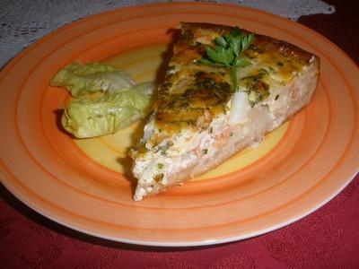 Spargel - Lachs - Tarte Rezept
