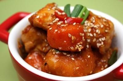 Spicy Chicken Koreanisch Rezept