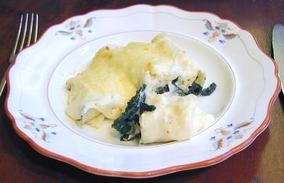 Cannelloni mit Spinatfülle Rezept