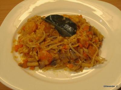 Shrimps in Thaicurry Rezept