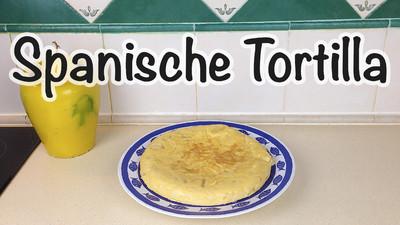 "Spanische Kartoffel Tortilla ""Tortilla Española / Tortilla de Patatas""  Rezept"