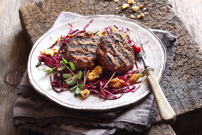 Wild-Fleischlaberl vom Weber Grill Rezept