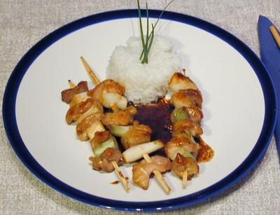 Yakitori (Japanische Hühnerspieße) Rezept