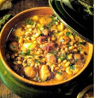 zuppa di castagne e fagioli Rezept